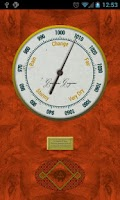 Screenshot of Vintage Barometer (Network)