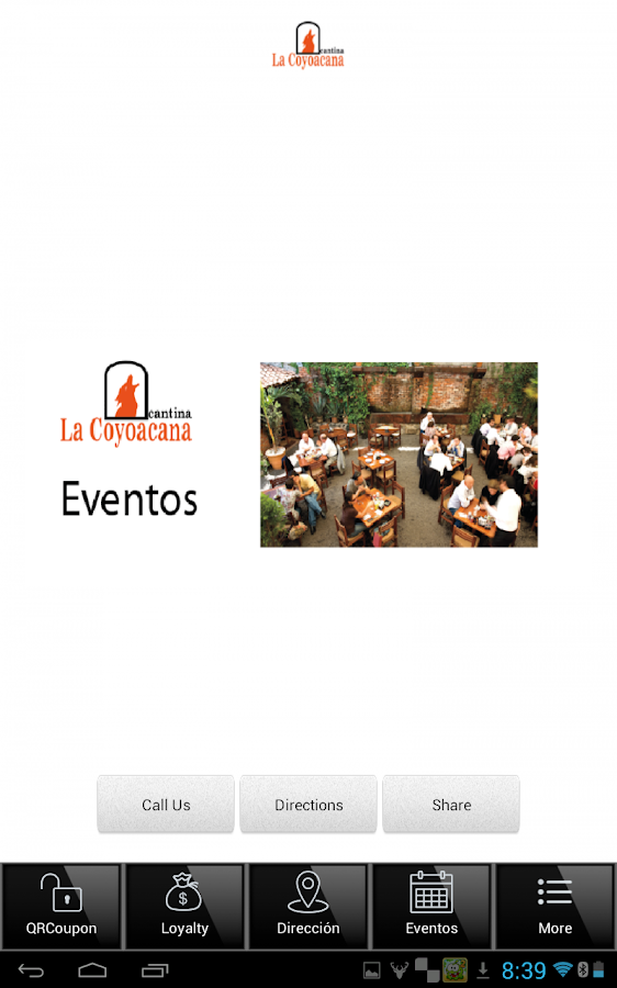La Coyoacana App- screenshot