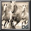 White Horses Animated LWP icon