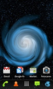 RLW Theme Galaxy Blue - screenshot thumbnail