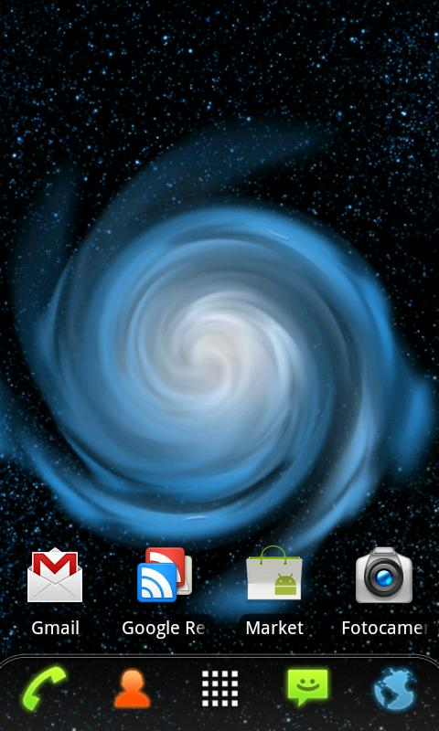 RLW Theme Galaxy Blue- screenshot