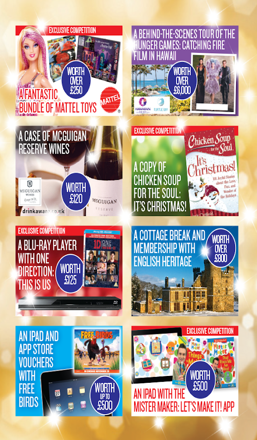 Morrisons Magazine for tablet - screenshot