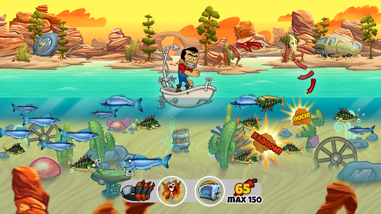 Dynamite fishing world games android apps on google play for Fish world game