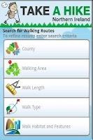 Screenshot of Take A Hike NI