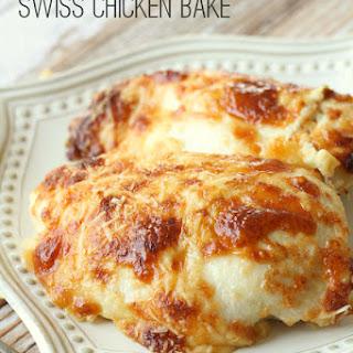 Creamy Swiss Chicken Bake.