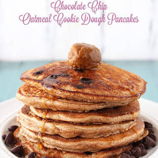 Chocolate Chip Oatmeal Cookie Pancakes.