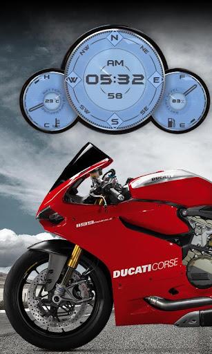 【免費個人化App】Ducati Panigale Motorbike LWP-APP點子