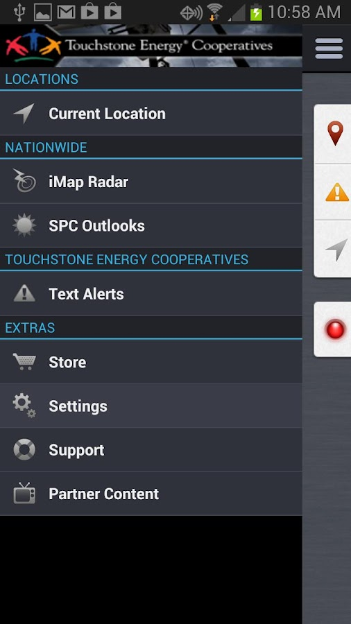 Touchstone Energy Weather Con.- screenshot