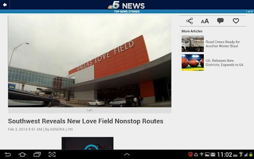 NBC DFW- screenshot thumbnail