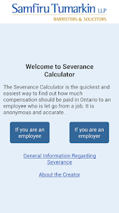 Severance Calculator- screenshot thumbnail