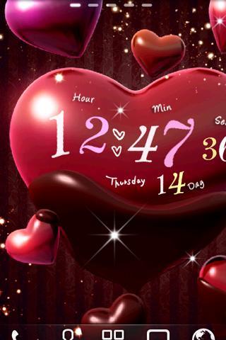 Heart Choco Live Wallpaper