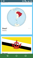 Screenshot of Flags of the World