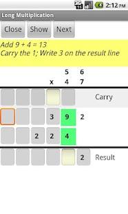 Learn Multiplication- screenshot thumbnail