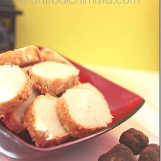 Truffle and Saffron Shortbread Cookies.