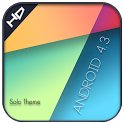 Android 4.3 solo launcher icon