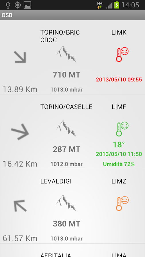 Barometer & Altimeter - screenshot