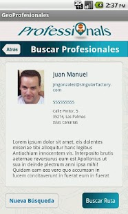 GeoProfesionales - screenshot thumbnail