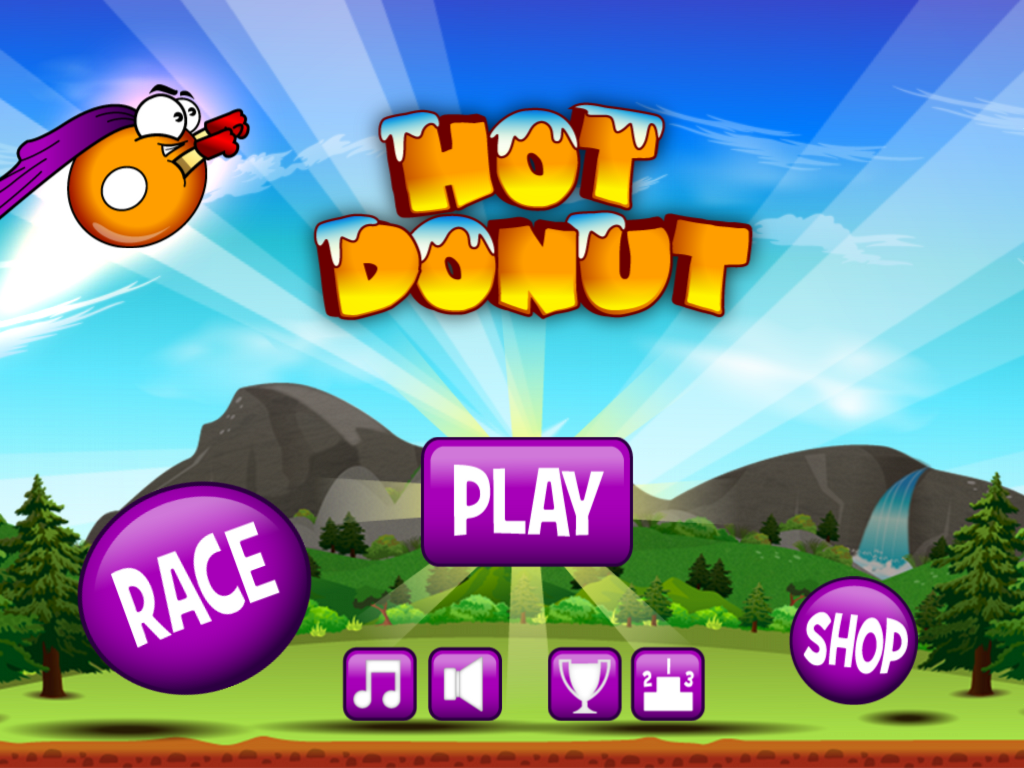 Hot Donut - screenshot