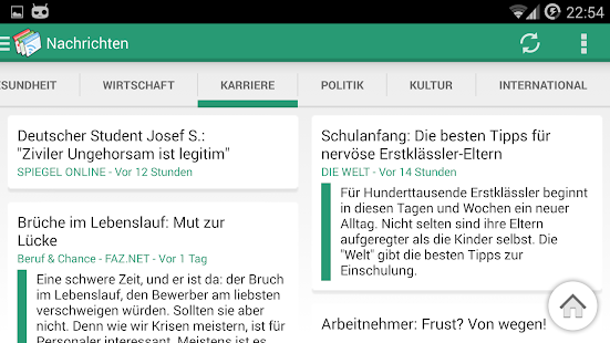 SimpleNews - RSS Reader