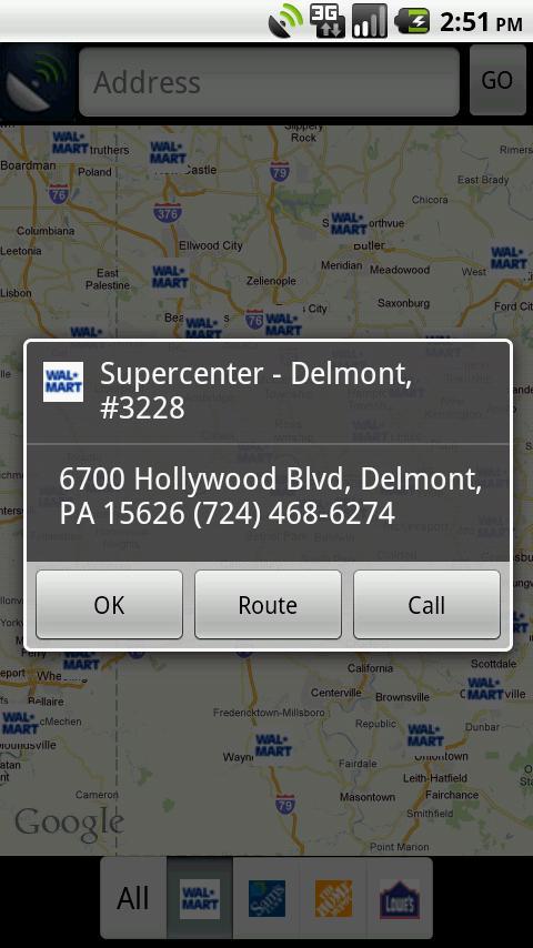 Overnight Parking- screenshot