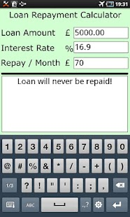 Loan Repayment Calculator- screenshot thumbnail