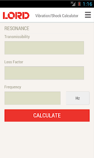 Vibration-Shock Calculator- screenshot thumbnail