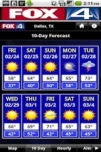 FOX4 Weather - screenshot thumbnail
