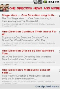 One Direction News & More - screenshot thumbnail