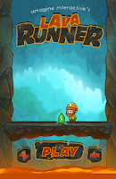 Screenshot of Lava Runner