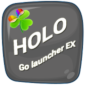 Holo Light GO Launcher Theme