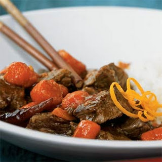 Spicy Orange Beef.