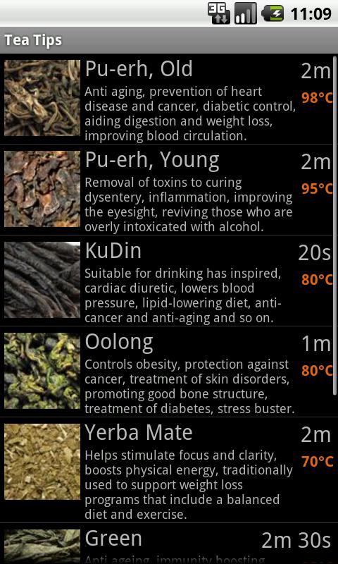 Tea Tips- screenshot