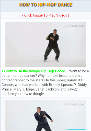 How to Hip-Hop Dance