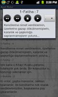 Screenshot of Ayet Bulur: Kuran ve Hadis