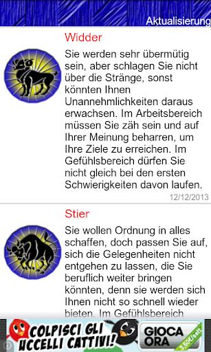 Horoskop Deutschland