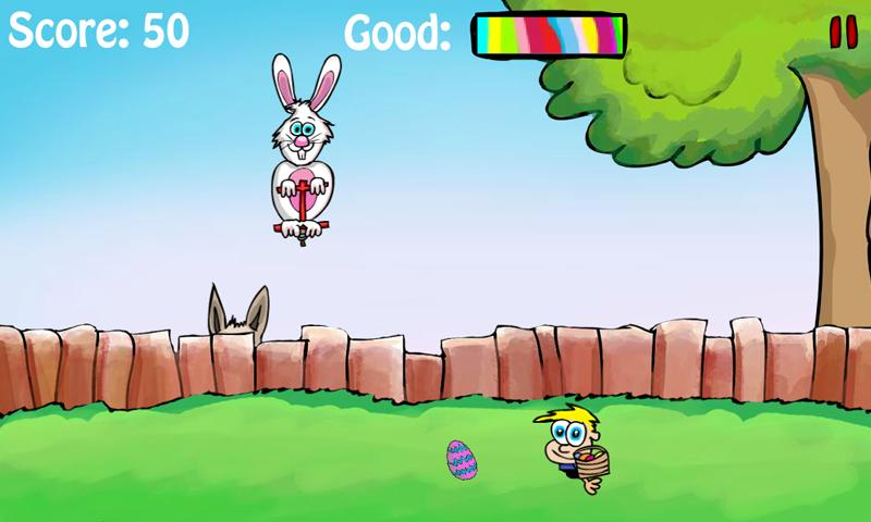 Pogo Bunny (Easter Edition)- screenshot
