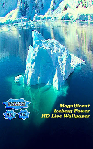 Magnificent Iceberg Cold Power