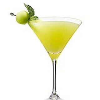Honeydew Martini.