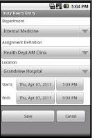 Screenshot of NI GME
