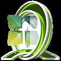 GreenLi 3D theme Next Launcher icon