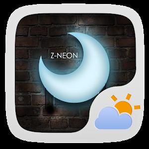 ZNeon Free Theme GO Weather