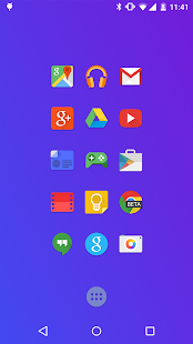 Moonshine - Icon Pack - screenshot thumbnail