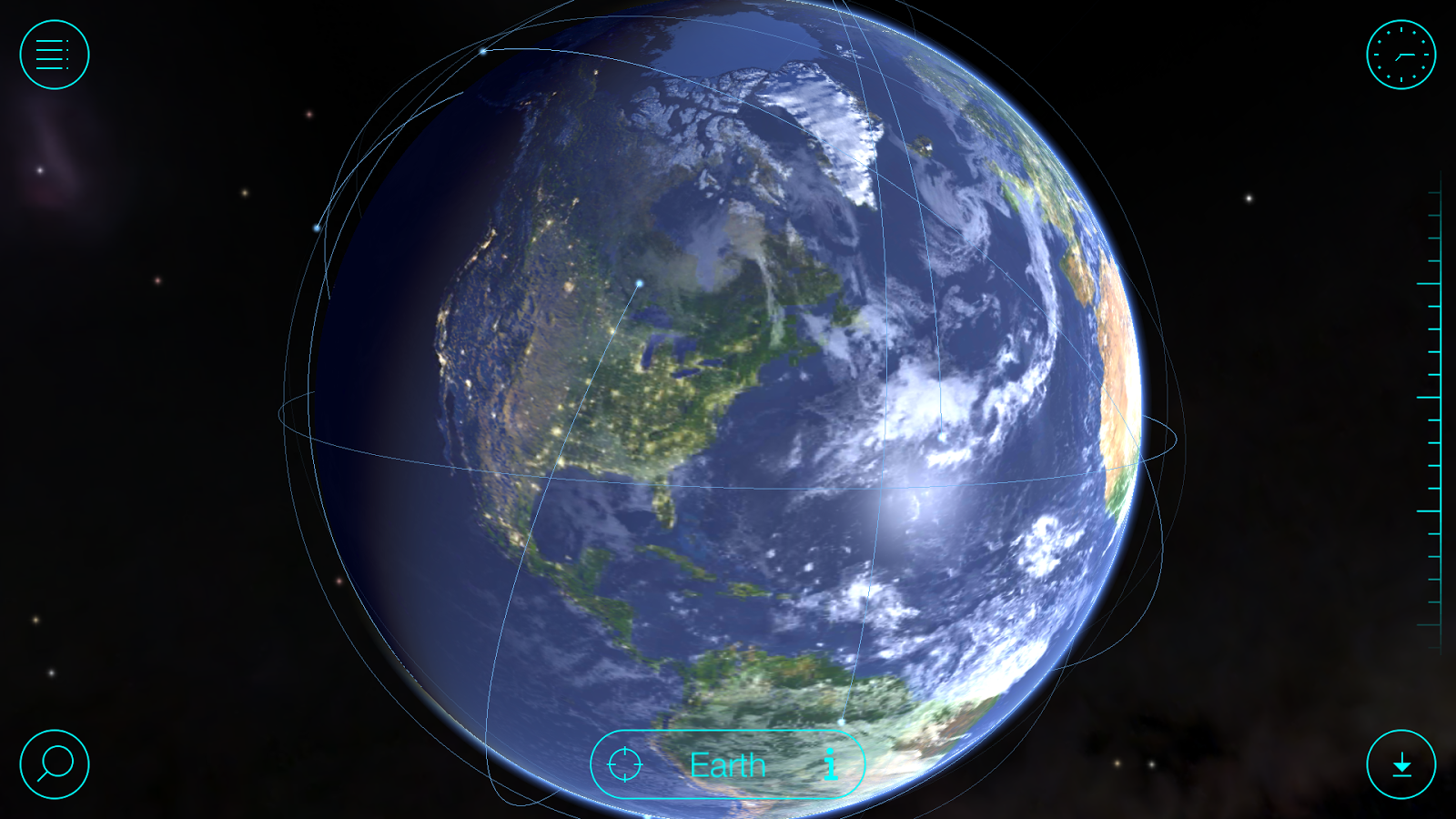 Solar Walk Free - Planets 3D- screenshot