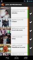 Screenshot of Atresmedia Conecta