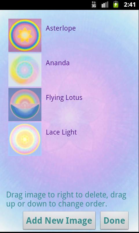 Luminescence Visual Meditation- screenshot