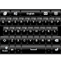 Black Theme Skin for GO Keyboa icon