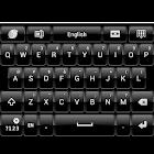 Black Theme Skin for GO Keyboa icon