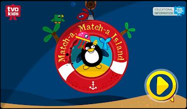 TVOKids Match-a Match-a Island screenshot thumbnail
