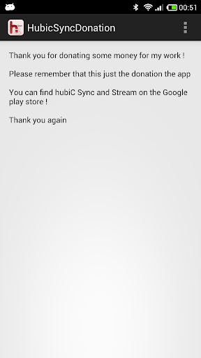 hubiC Sync And Stream Donation