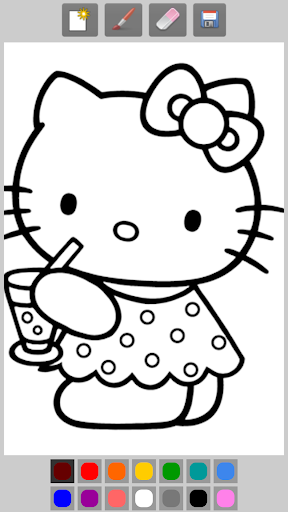 Coloring Book:Kitty